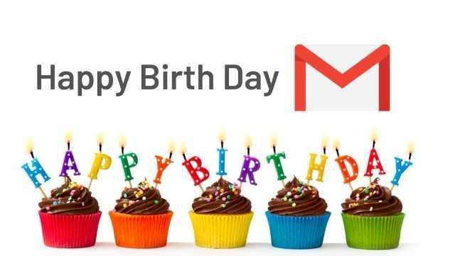 happy birthday gmail