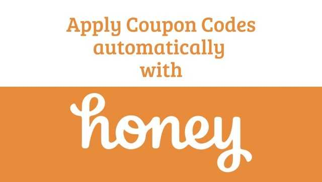 How to Apply Coupon Codes with Honey Chrome Extension