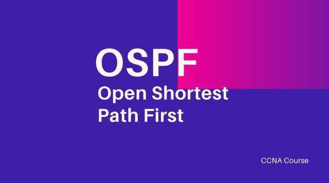 Open Shortest Path First (OSPF) - CCNA Course