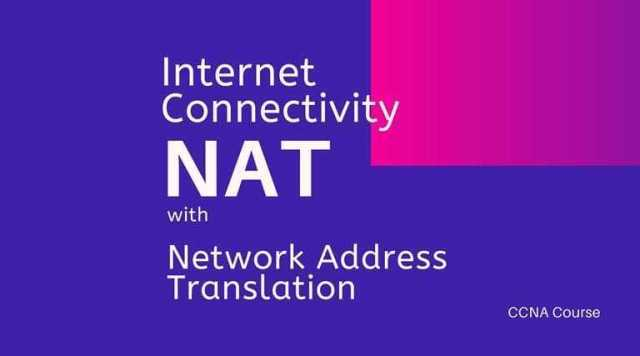 Enabling Internet connectivity with NAT