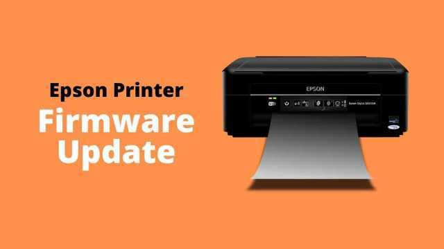 epson printer firmware update