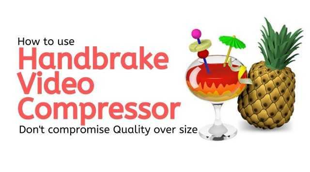 Handbrake Video Compressor