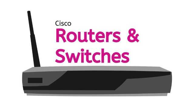 cisco router and switches