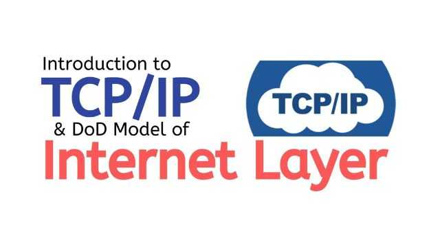 TCP IP or internet layer protocol
