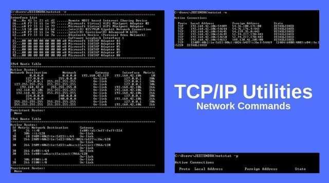 TCP_IP Utilities network commands