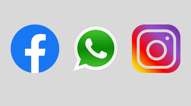 facebook instagram whatsapp facing problem