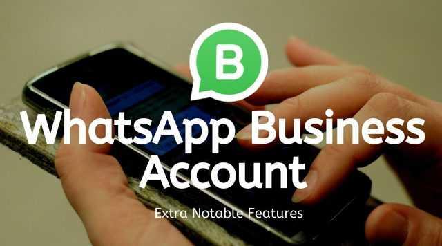 WhatsApp Business Account