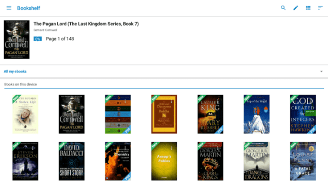 10 Best eBook Reader for Android you can use in 2019