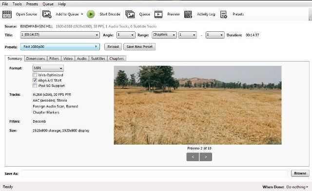 How to use Handbrake Video Compressor- Step by Step Guide