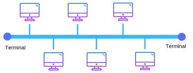linear bus topology in computer networking