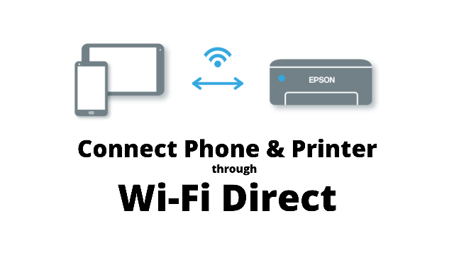 Connect Phone & Printer