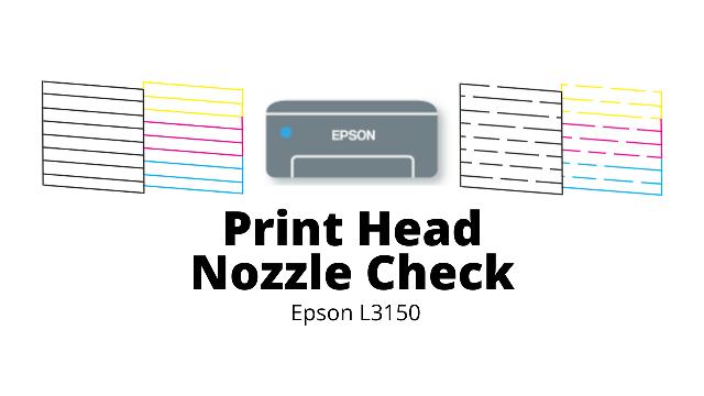 Print Head Nozzle Check