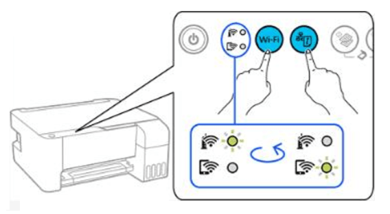 How to Connect Epson L3150 Printer and the Smartphone directly (Wi-Fi Direct)