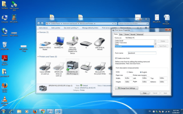 How to Install Epson plq 30 With Postal Passbook Page Setup ️