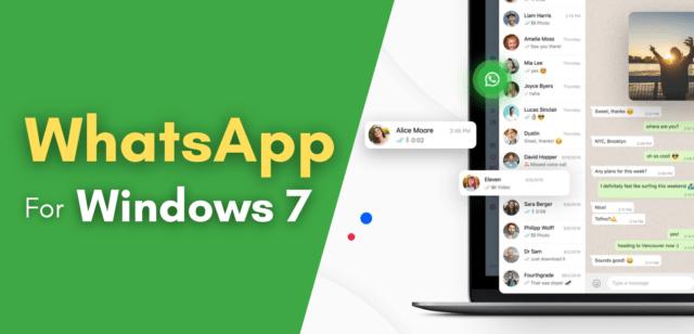 whatasapp for windows 7
