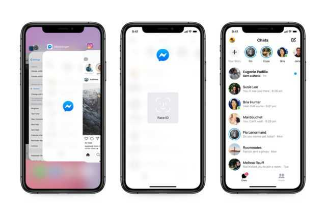 Facebook Messenger in iPhone can protect your chat behind Face ID