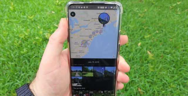 find photos where they have been taken on google maps through this new udpate
