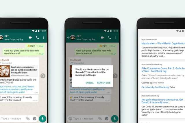 WhatsApp to add Search feature to discourage forwarded Viral Messages