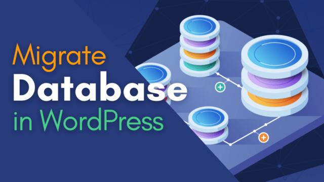 How to Import and Export Database in WordPress Site #WordPress