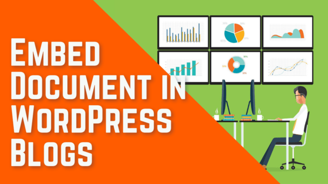 How to Embed PDF, Spreadsheet, Word, and other documents in WordPress Blog Posts #WordPress