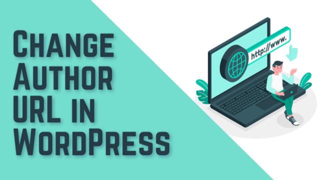 How to Change Author URL Slug in WordPress (Using Plugin) #WordPress