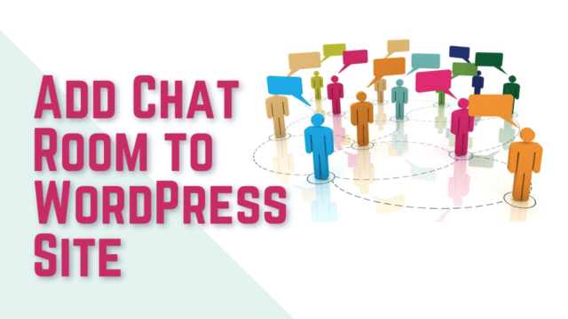 How to Create Chat Rooms in WordPress for Your Users (Using Plugin) #WordPress