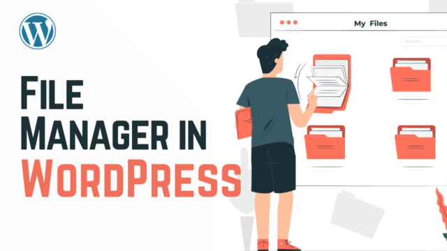 How to Add a FTP like File Manager in Your WordPress Dashboard (Using Plugin) #WordPress