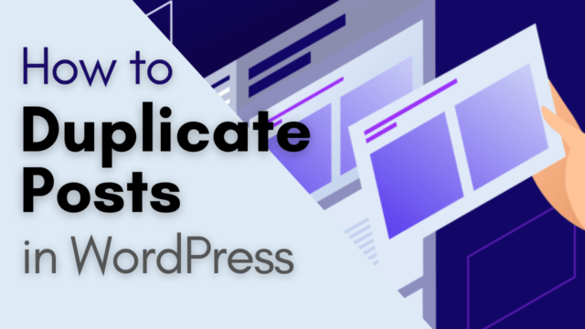 How to Duplicate Posts or Pages in WordPress with Single Click #WordPress