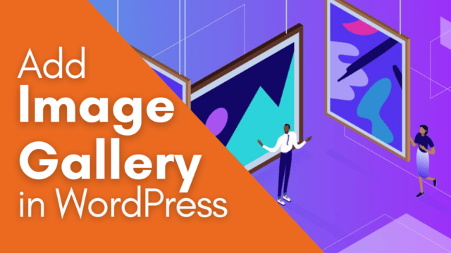 How to Add Beautiful Image Gallery in WordPress Post #WordPress