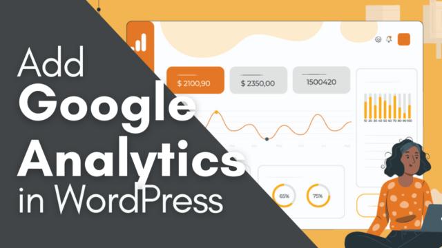 How To Add Google Analytics Dashboard in WordPress Easily #WordPress