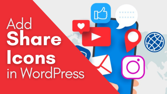 How to Add Any Social Media Share Button in WordPress #WordPress