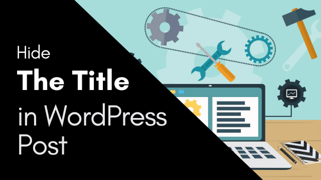 How to Remove Title of Blog Post in WordPress #WordPress